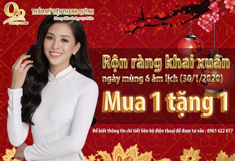 Thẩm mỹ viện Thanh Quỳnh khai xuân tết 2020