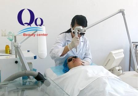 Công nghệ trị  thâm môi bằng Laser