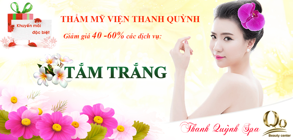 Khuyến mại thẩm mỹ viện Thanh Quỳnh